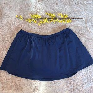 Delta Burke Navy Swim Skirt 20W